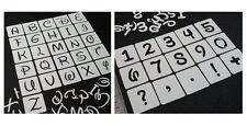 Disney Majuscules Lettres Alphabet et chiffres pochoirs Set individuels réutilisable