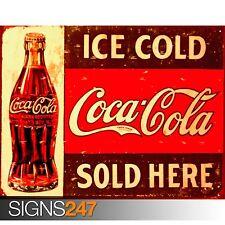 COCA Cola rétro (1031) vintage Photo Poster Print art A0 A1 A2 A3 A4