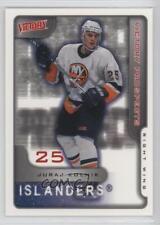 2001-02 Upper Deck Victory #380 Juraj Kolnik New York Islanders Hockey Card
