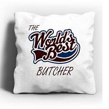 The Worlds Best Butcher Cushion
