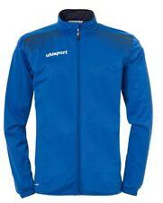 Uhlsport Mens Classic Sports Football Full Zip Jacket Tracksuit Top Azurblue ...