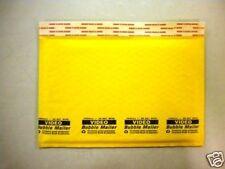 100 #DVD VHS 12 x 7.5 Kraft Bubble Mailers Envelopes #0
