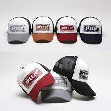 Unisex Mens Womens Breeze Summer Mesh Casual Baseball Cap Trucker Snapback Hats