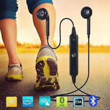 Wireless Bluetooth 4.1 Headset Earphone Stereo with MIC InEar iPhone iPOD iPAD