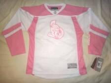 NWT Ottawa Senators NHL Reebok Girls V-Neck Hockey Jersey Youth Size S-XL