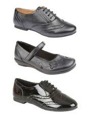 Jazz Niña Escuela Formal Encaje Negro Zapatos número 10-3