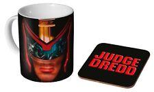 2000 AD Judge Dredd Badge 10oz 300ml Ceramic Coffee Breakfast Mug