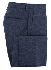 New $475 Incotex Dark Blue Fancy Pants - Extra Slim - (S0T0305825810)