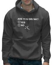 Are You Bebido? Yes o No Gracioso Beber Cerveza Con capucha