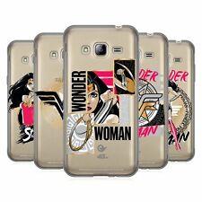 Officiel Wonder Woman DC Comics Graphic Arts GEL souple Coque Pour Samsung Téléphones 3