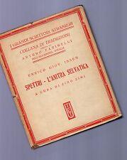 ibsen - spettri - l anitra selvatica -  UTET -1931 -  grandi scrittori stranieri