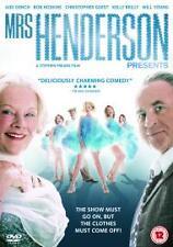 Mrs Henderson Presents (DVD, 2006)new/sealed,free postage uk