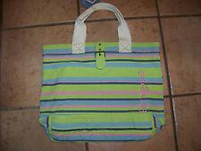 NWT Ladies Life is good BUCKLE TOTE STRIPES Purse Handbag $40