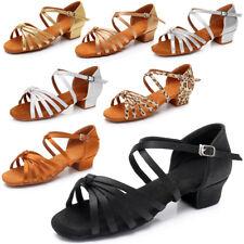 Salón de baile de mujeres para niños baile de tango latino zapatos de tacón