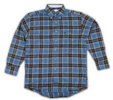 Mens Wrangler George Strait Long Sleeve Flannel Shirt MGS07BM Any Sz S M L XL 2X