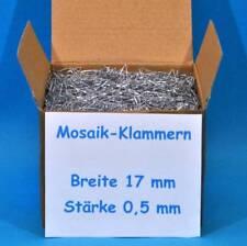 Mosaikklammern Klammern Mosaik Digedags Abrafaxe 20 50 100 200 Stück Ø 0,5