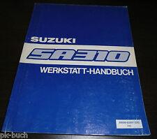 Werkstatthandbuch Grundhandbuch Suzuki Alto SA 310 Stand 05/1984