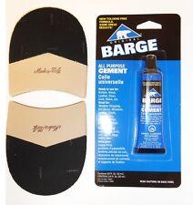 Vibram Italian Men's Dress Shoe Combo/British Heel Repair Kit w/Glue - 1 Pair
