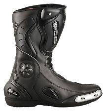 Motorradstiefel Racing Boots Touringstiefel von XLS schwarz Gr. 40-47 Neu