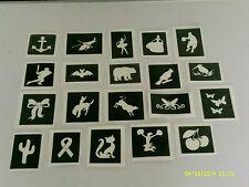 20 X Plantillas-Elige de imagen-Ballet, murciélago, pájaro, Arco, Mariposa, cinta