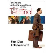 The Terminal (DVD, 2004, Widescreen) Tom Hanks, Catherine Zeta-Jones NEW
