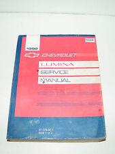 1992 Chevrolet Lumina Service Manual Book I ST379-92-1 Repair Manual