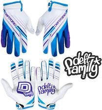 Deft Family Motocross MX Gloves Catalyst 2 Proper White Blue All Sizes bmx mtb