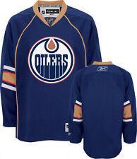 New Reebok Edmonton Oilers hockey jersey senior medium navy NHL home sr