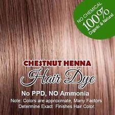Chestnut Henna Hair Dye – Color Hair With 100% Organic Chestnut Henna