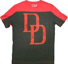 Official Marvel Comics Superhero Daredevil Pieced Crew Adult T-Shirt