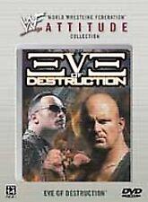 WWF Attitude Eve of Destruction DVD 2002 RARE BRAND NEW  CONDITION The Rock WWE