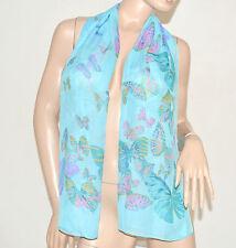 Foulard stola coprispalle donna colorato estivo fantasia bufanda scarf шарфы 89
