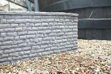 LGB Gartenbahn Stützmauer Mauer Gips o. Beton Frostsicher 4 Farben zur Auswahl