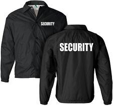 Security jacket, nylon, security guard jacket, law enforcement, windbreaker
