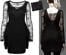 Robe gothique lolita burlesque dentelle volants laçage corset fashion Punkrave