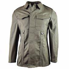 Original German army Moleskin jacket. Vintage BW army field olive drab jacket