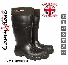 Camminare EVA Bottes Thermiques léger wellingtons bottes -35 C syberian Noir
