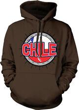 Chile Flag Ball Country Colors Outline Chilean Republica De CL Hoodie Sweatshirt