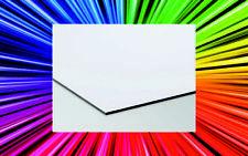 Pannello Lastra dibond alluminio d-bond 3 mm bianco/silver - varie misure -