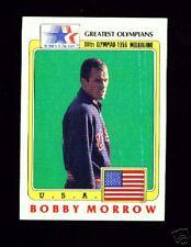 (100) 1983 OLYMPIC BOBBY JOE MORROW 100 200M CARDS #61