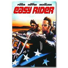 136925 Easy Rider Soundtrack Music FRAMED CANVAS PRINT AU