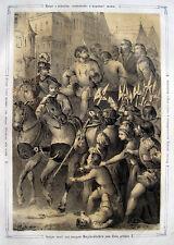 Wien 1463: Hinrichtung Bürgermeister Wolfgang Holzer, Friedrich III. Albrecht VI