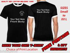 Diseñar tu propio personalizado Camiseta Stag, Gallina O Fiesta