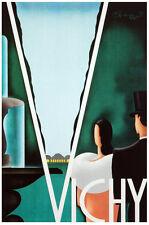 Fashion POSTER.Stylish Graphics.Vichi.Elegant Deco Couple.Art Decor.261i