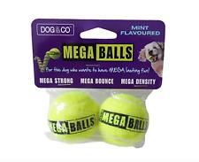 Hem & Boo Dog Mega Balls Plain or Mint Flavour Mega Bounce Extra Dense Walls