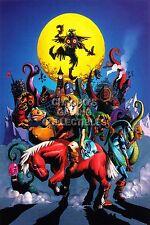 RGC Huge Poster - Legend of Zelda Majora's Mask 3D Nintendo 3DS N64 - ZELM02