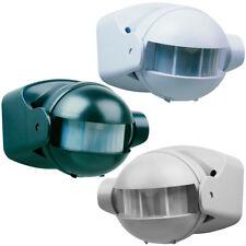 SMARTWARES Motion Sensor Detector Switch In/Outdoor 180° 12 m Grey/White/Black✓