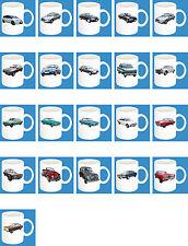 300 ml ceramica Bicchiere con motivo: FORD EUROPA AUTO MODELLI caffè tazza parte