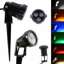 9W LED Garden Flood Light Landscape Pathway Spotlight Waterproof IP65 Floodlight