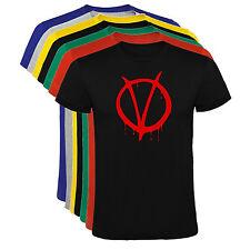 Camiseta V de Vendetta Hombre varias tallas y colores a129